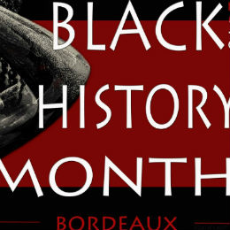 Affiche du Blach History Month Bordeaux