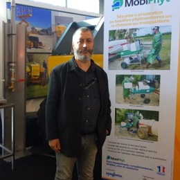 Laurent Lajus président du Cluster Machinisme