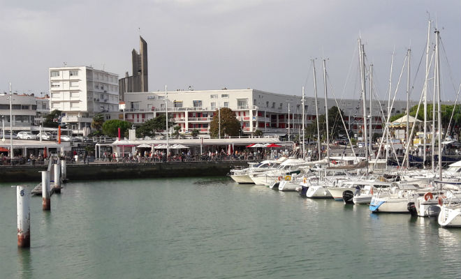 Le port de plaisance de Royan