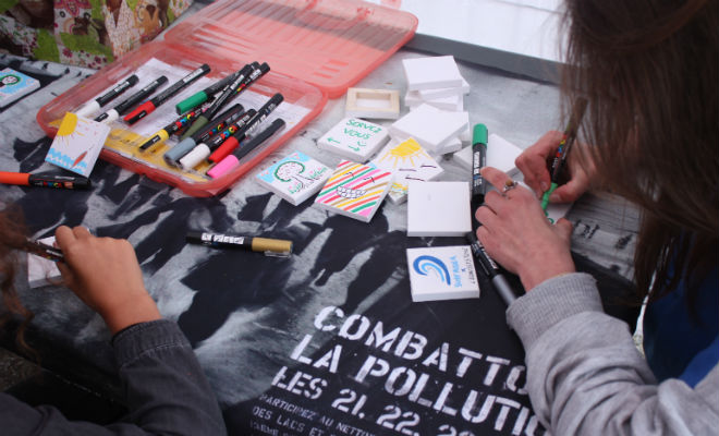 Sensibilisation à la pollution
